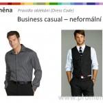 Dress Code muži, neformální