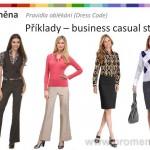 Dress Code ženy, byznys styl