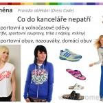 Dress Code ženy, špatné příklady
